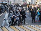 Две российские компании включили протесты в Москве в перечень инвестиционных рисков