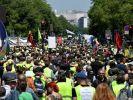 В Париже возобновились акции протеста «жёлтых жилетов»