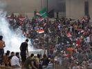 Массовые протесты происходят в Ираке: десятки погибших, сотни пострадавших