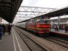 В Москву прибыл поезд с радиационным вагоном