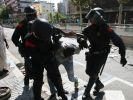 Массовые беспорядки в Барселоне привели к отмене рейсов
