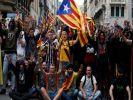 В Барселоне на манифестацию вышли более полумиллиона человек