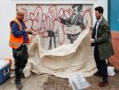 Banksy and Velazquez Graffiti Hidden Due to Construction Will Be Shown in London