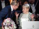 Президент наградил Александру Пахмутову орденом Андрея Первозванного