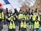 В ходе протестов «жёлтых жилетов» во Франции было задержано более 260 человек