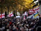 Грузинская оппозиция вышла на антиправительственный митинг