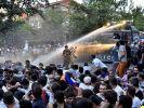 Для разгона протестующих в Тбилиси привлекли спецназ