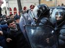 Police Began to Disperse Demonstrators in the Capital of Georgia