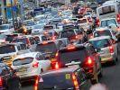В Москве образовались девятибалльные пробки