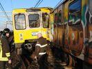В неаполитанском метрополитене столкнулись 2 поезда