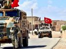 The Turkish Army Began the Withdrawal of Forces from the Syrian Town of Tell Tamer