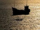 У берегов Японии затонуло грузовое судно