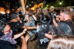 В Миннеаполисе полиция применила газ против российских журналистов