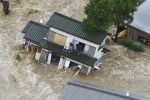В Японии жертвами оползней и наводнений стали 70 человек