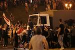 В Минске для разгона протестующих применили газ