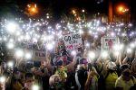 В США двое полицейских получили огнестрельные ранения во время митинга против расизма