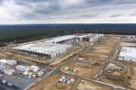 Европейская фабрика Tesla отключена от водоснабжения