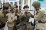 Военнослужащие в годы Второй мировой войны, реконструкция событий.