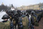 На акции протеста в Петербурге