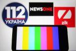 112 Ukraine, NewsOne and ZIK Ukrainian TV channels are blocked in Ukraine
