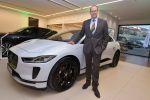 Gala showroom opening of «Jaguar Land Rover» in Berlin.