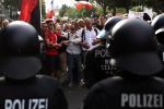 Митинг в Германии.