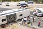 Accident with a bus in Turkey
