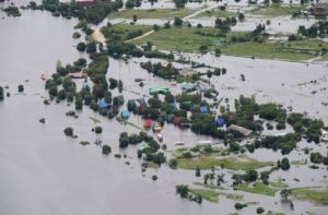 В Кургане введён режим повышенной готовности в связи с паводком
