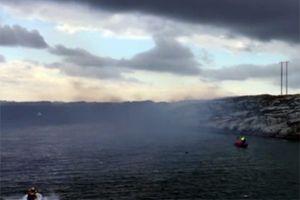 У берегов Норвегии разбился вертолёт с нефтяниками на борту