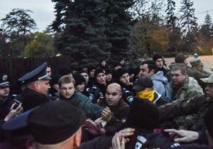 В Одессе произошла стычка проукраинских и пророссийских активистов