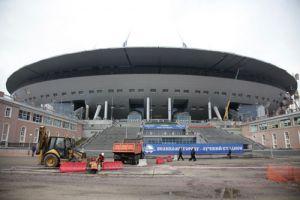 Администрация СПб: Готовность футбольного стадиона на Крестовском острове – 85%