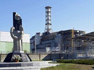 Завершается закрепление нового саркофага на ЧАЭС