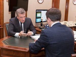 Мединский провёл встречу с врио губернатора Кировской области