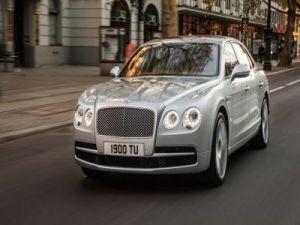 Новый Bentley Flying Spur V8S добрался до России