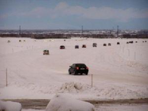 Самая северная ледовая переправа открылась на Таймыре