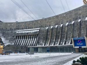 На Саяно-Шушенской ГЭС идёт плановая сработка водохранилища