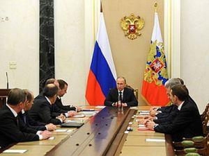 Путин провёл оперативное совещание Совбеза РФ