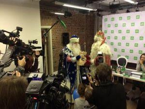 Главный Дед Мороз страны встретился со своим уральским коллегой в Екатеринбурге