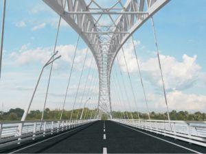 Mostotrest won the bid for the construction of a bridge across the Volga River