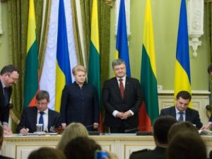 Ukraine and Lithuania signed several bilateral documents on cooperation