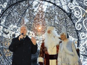"""В Москве открылся фестиваль """"Путешествие в Рождество"""""""