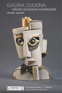 The Kabinett gallery has announced an exhibition of Russian sculptor Galina Dulkina