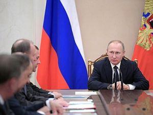 Путин обсудил с Совбезом подготовку к переговорам по Сирии в Астане