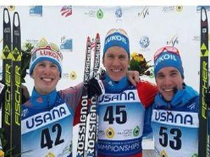 Тюменский лыжник Александр Большунов выиграл гонку на первенстве мира в США