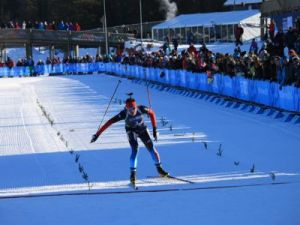 Биатлонист Карим Халили занял 13 место в спринте на первенстве мира в Осрблье