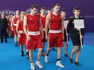 Чемпионат МВД России по боксу стартовал в Санкт-Петербурге