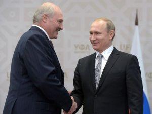Путин поздравил Лукашенко с Днём единения народов России и Беларуси