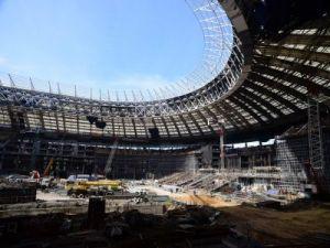"""Стадион """"Лужники"""" могут сдать в эксплуатацию после реконструкции до конца апреля"""
