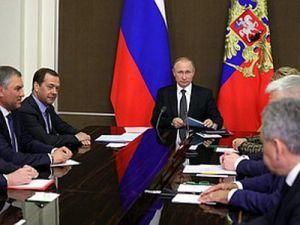 Президент провёл совещание спостоянными членами Совета Безопасности