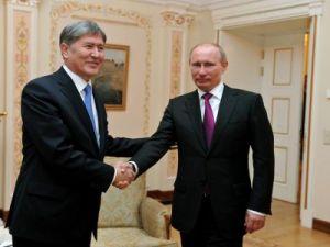 20 июня Путин встретится сПрезидентом Киргизии Алмазбеком Атамбаевым